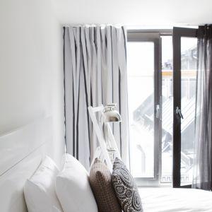 Tyylikäs loft-henkinen hotellihuone Hotel Fabianissa
